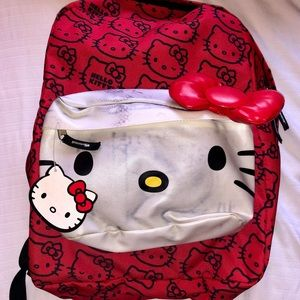 Authentic Sanrio Hello Kitty backpack